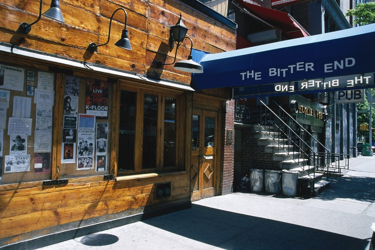The Bitter End is a West Village institution