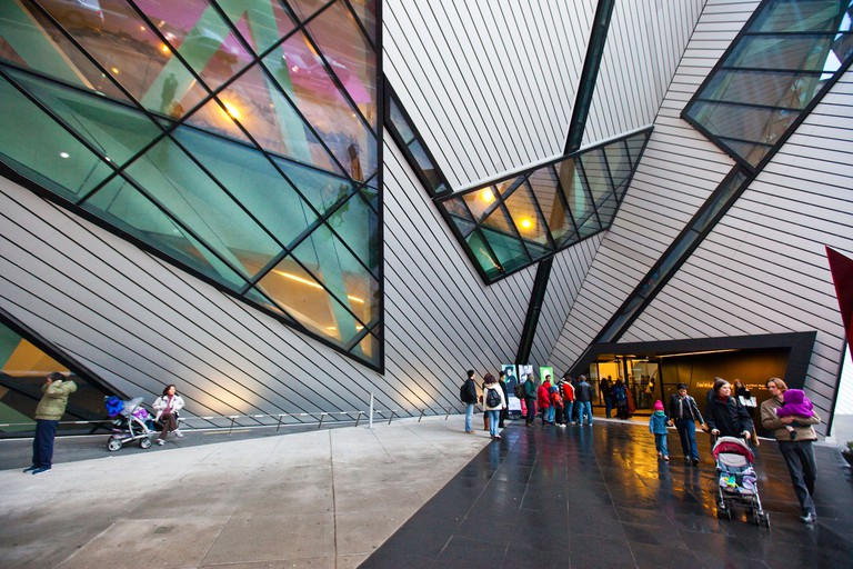 Royal Ontario Museum or ROM in Toronto Canada.