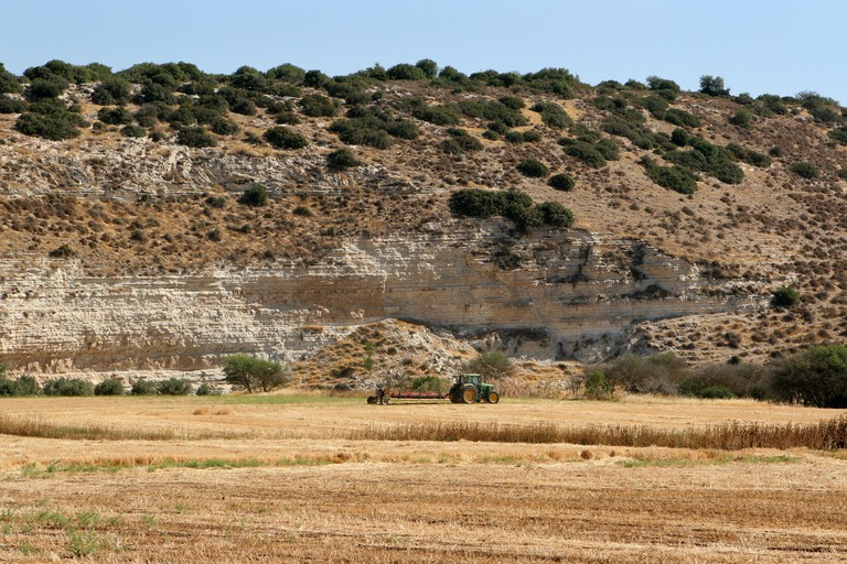 Valley of Elah, Israel.