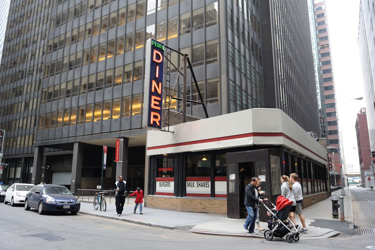 The Pearl Street Diner in Manhattan's Financial District.