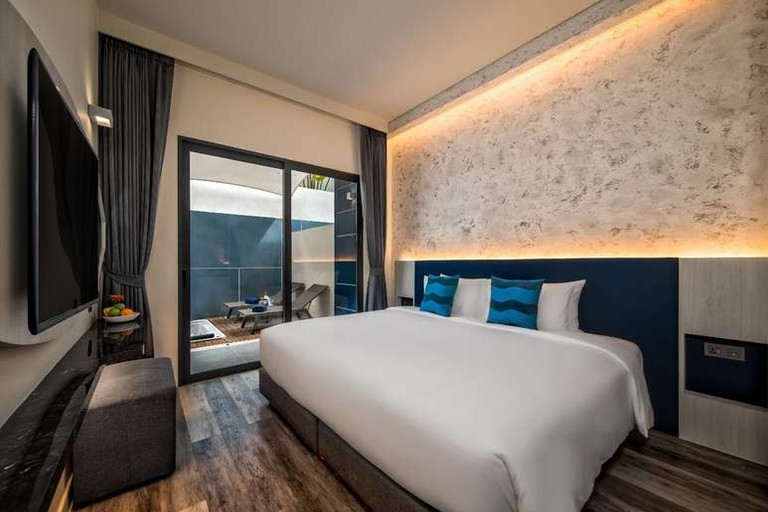 Guest room at Hotel Clover Patong Phuket
