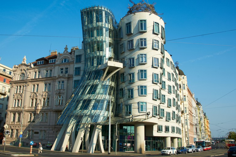 Dancing House, New Town, Prague.