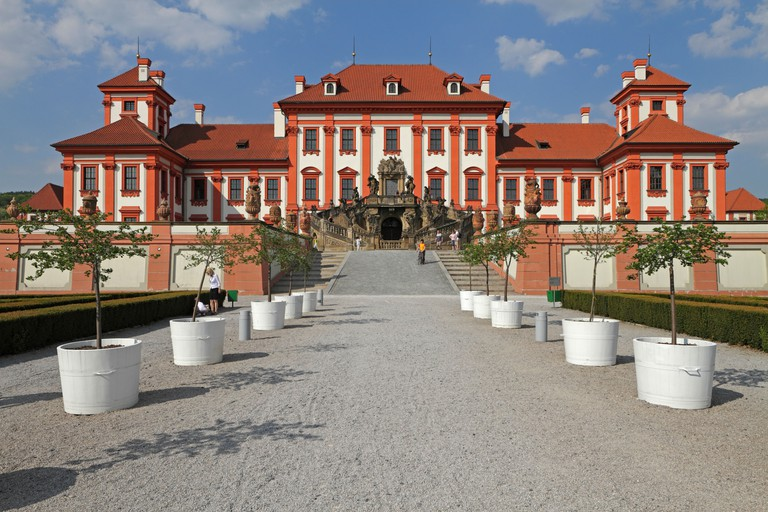 The Troja Chateau, Prague.