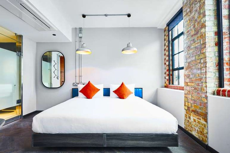 New Road Hotel is housed in a converted textile factory