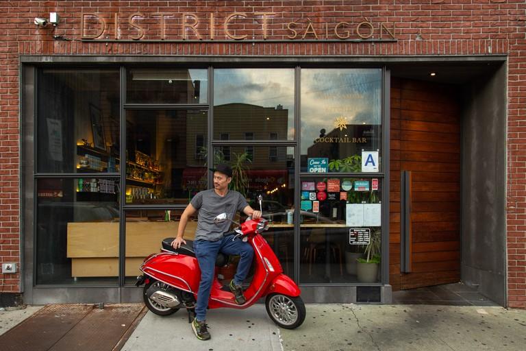 District Saigon, Queens, New York, USA.