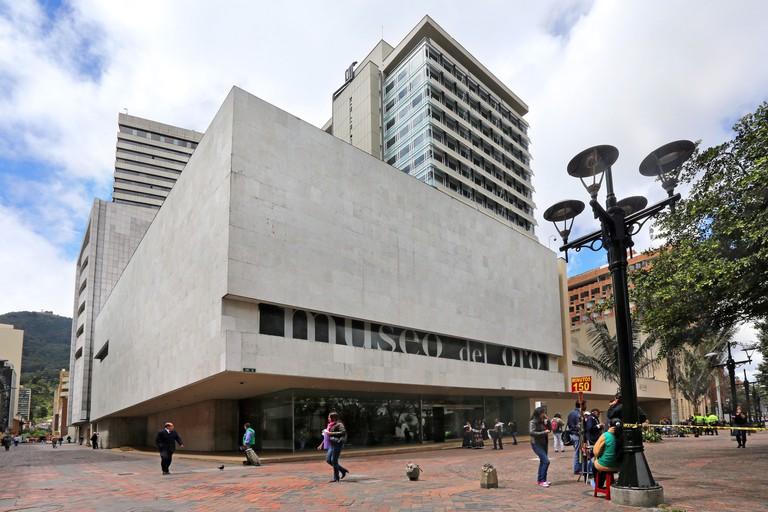 Gold museum, Museo del Oro, in Bogota, Columbia