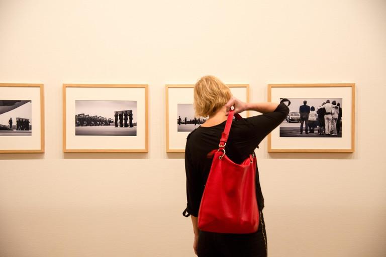 zileveren camera exposition in fotomuseum den haag holland. Image shot 2015. Exact date unknown.