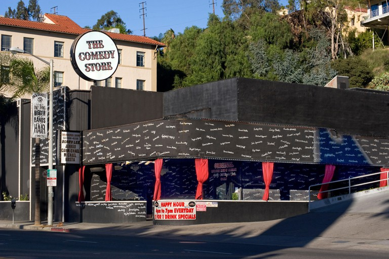 The comedy Store nightclub and former home of Ciro's on the Sunset Strip.