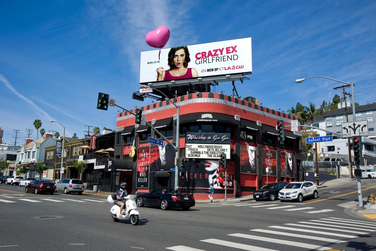 The Whisky A Go Go on the Sunset Strip in Los Angeles