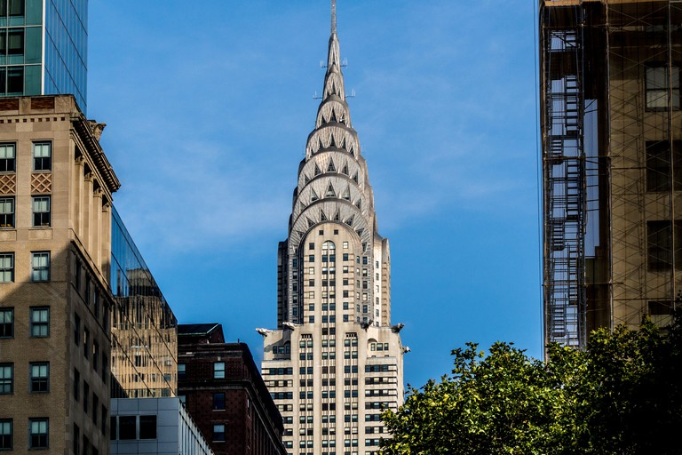 The Chrysler Building, East Side of Midtown Manhattan, New York City, USA.
