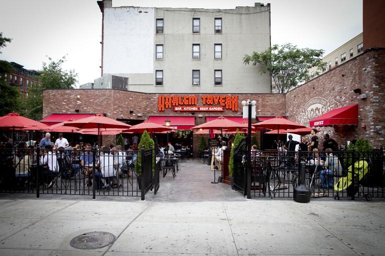 Harlem Tavern has a large beer garden