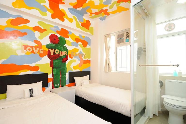 Hop Inn on Carnarvon is an art gallery as well a hostel