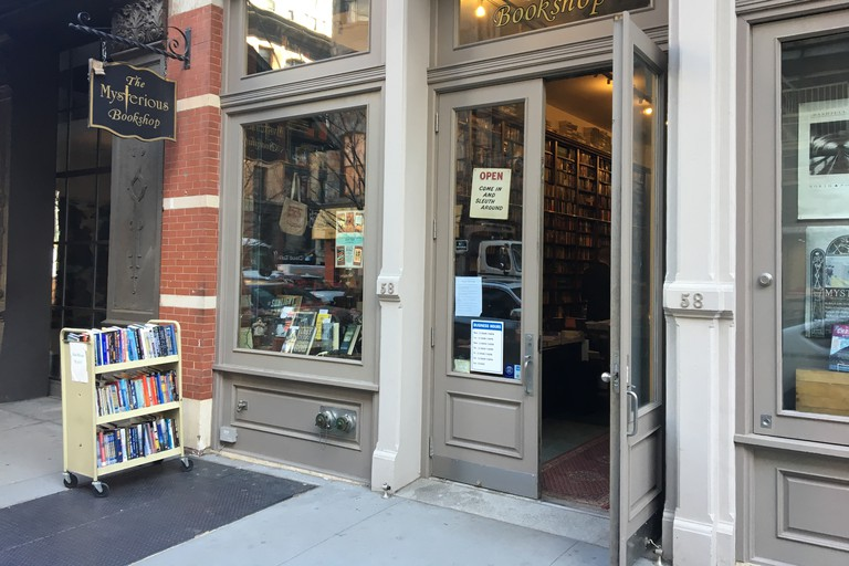 The Mysterious Bookshop, New York, USA.