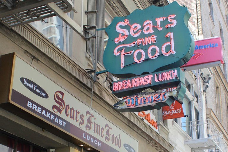 Sears Fine Food, Union Square, San Francisco, California