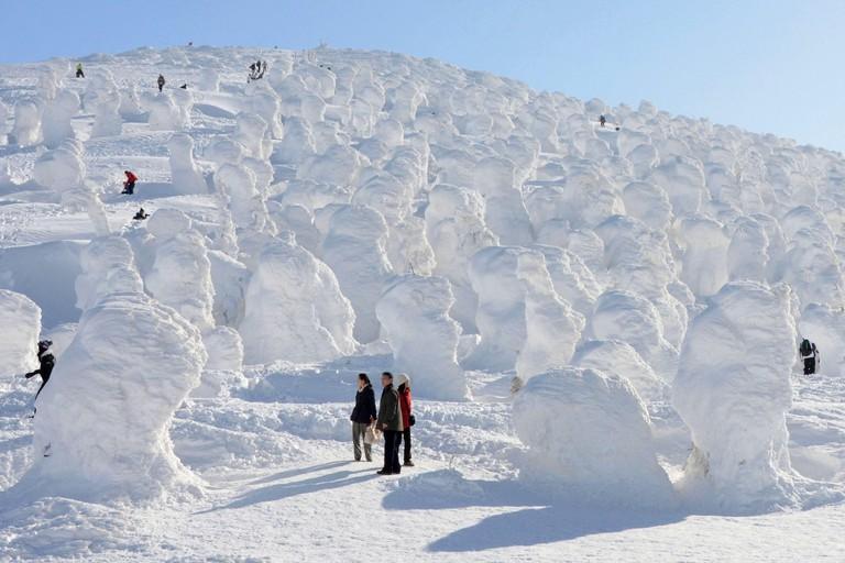 Yamagata Zao Onsen Ski Resort in Yamagata Prefecture