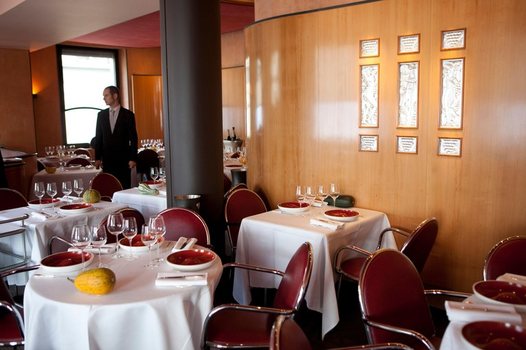 Restaurant L'Arpege in Paris