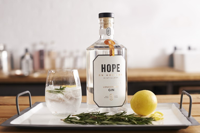 London Dry Gin by Hope on Hopkins