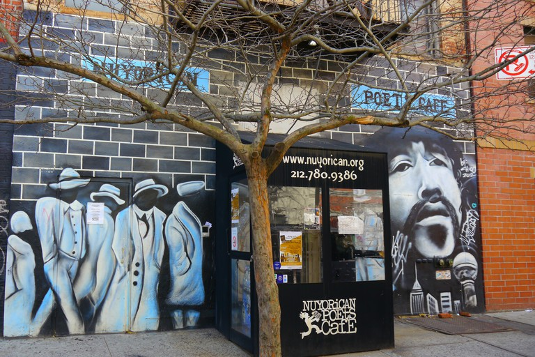 Exterior of Nuyorican Poets Cafe