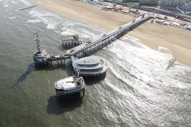 Kust Hoek van Holland-Noordwijkfoto: Joop van Houdt/Rijkswaterstaat