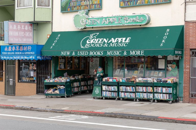 Green Apple Books & Music, Clement Street, San Francisco, California, USA