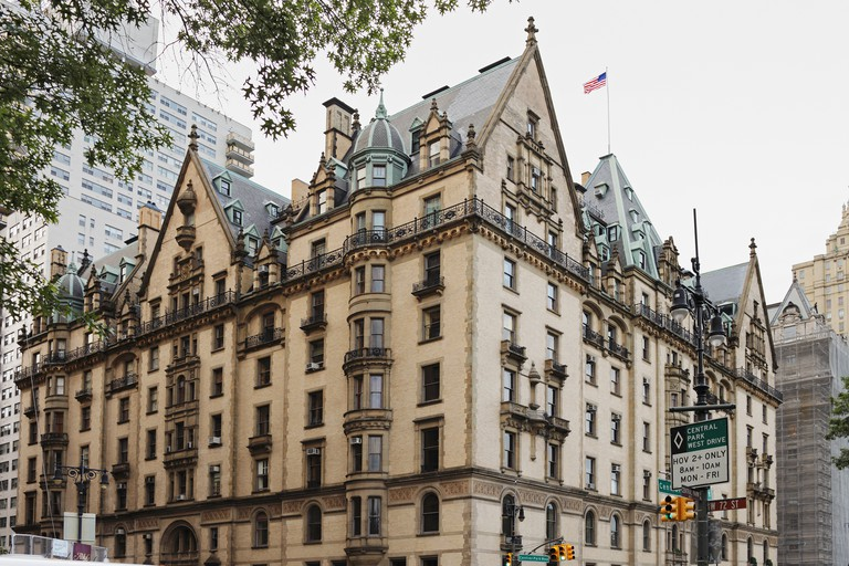 The Dakota building; located in the Upper West Side of Manhattan, known as the home of John Lennon, New York City, USA.