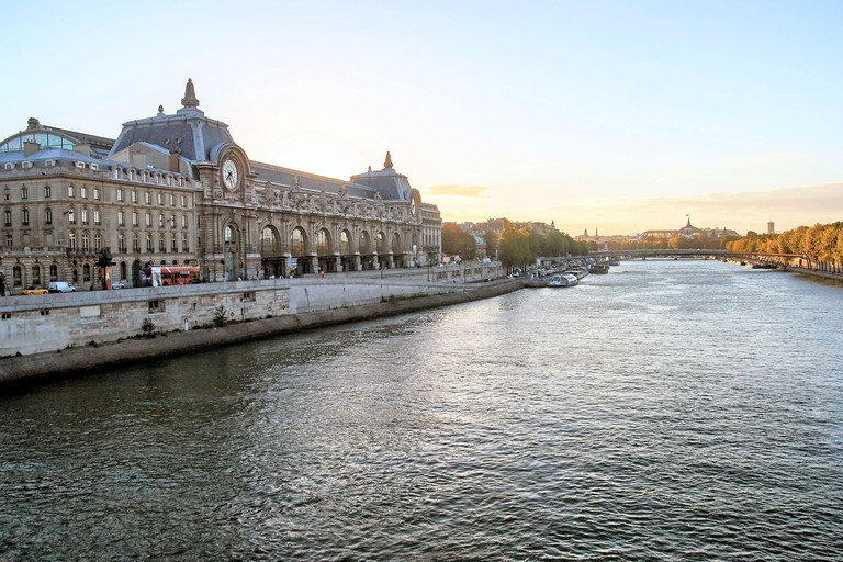 D'Orsay Museum. D'Orsay - a museum on left bank of Seine, it is housed in former Gare d'Orsay.