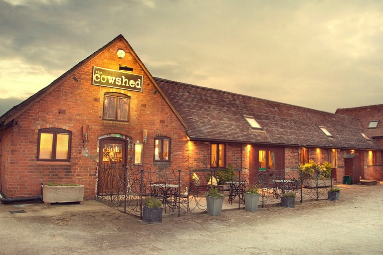 The Cowshed is a former dairy turned restaurant