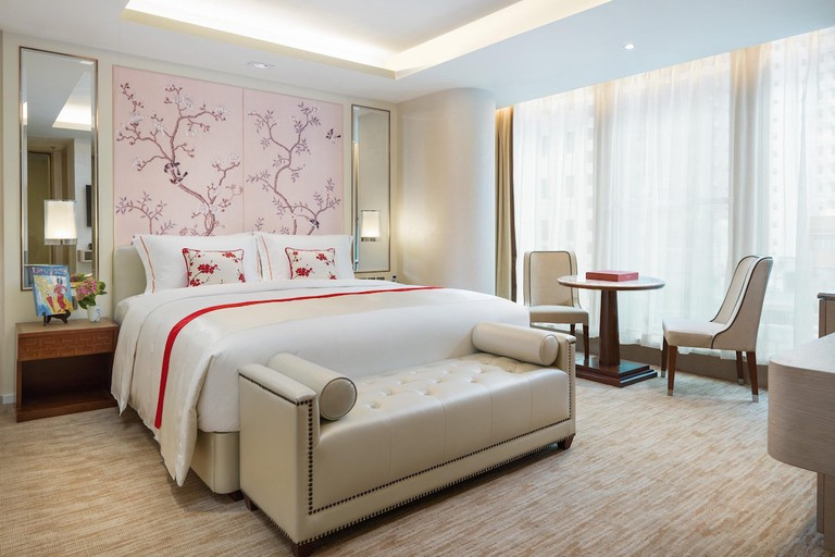 There are 68 rooms and suites at The Pottinger Hong Kong