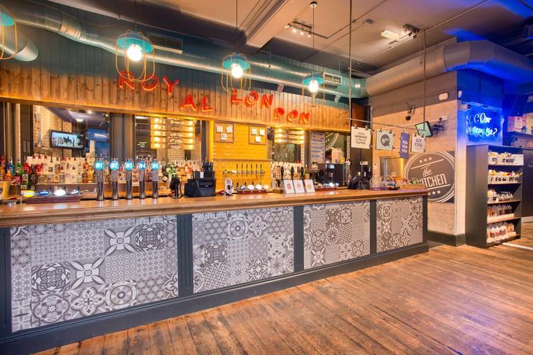 The Royal London bar