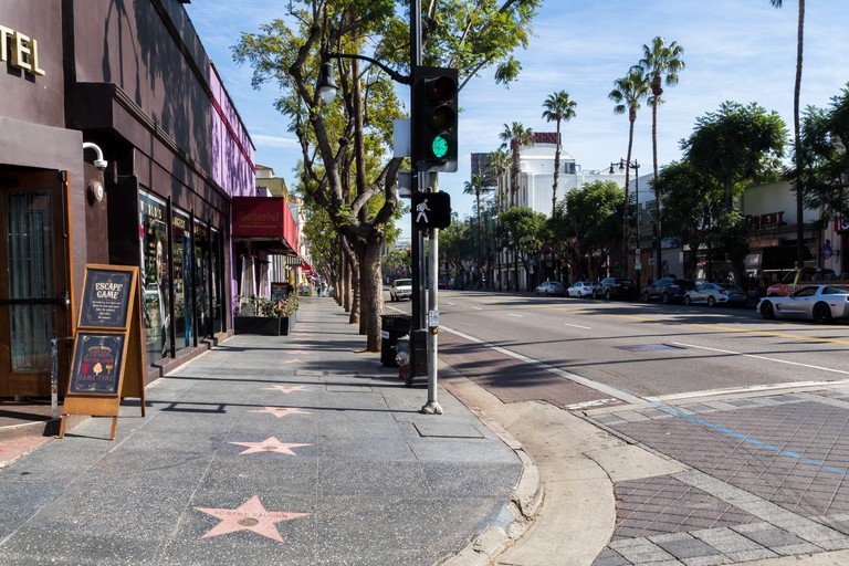 Hollywood Walk of Fame, Hollywood, California, United Sates of America