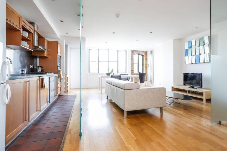 Enjoy open-plan living in East London