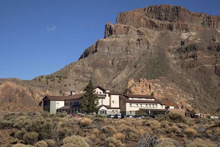 The Parador de las Cañadas del Teide is situated in a national park