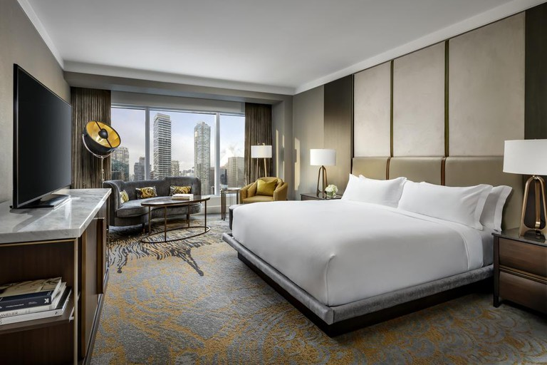 The Ritz-Carlton is the height of luxury