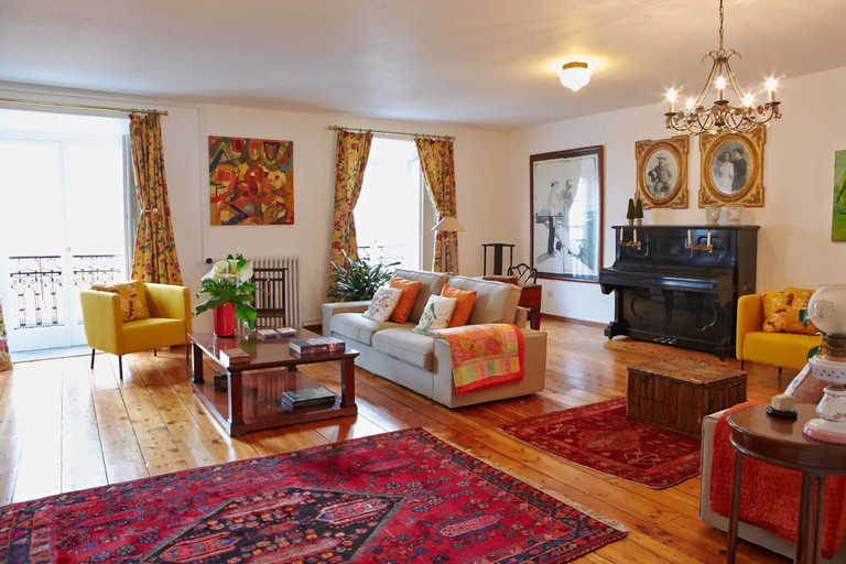 Stay in one of Santiago's most historic buildings © Airbnb