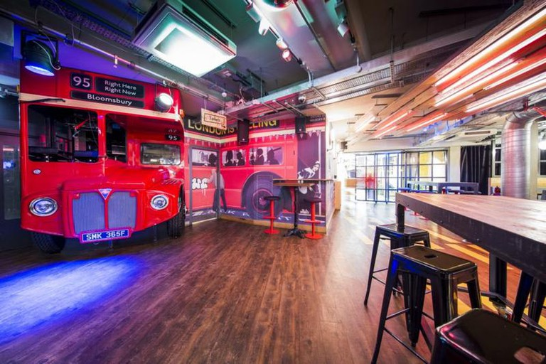 Generator London houses a large bar and better-than-average bathrooms