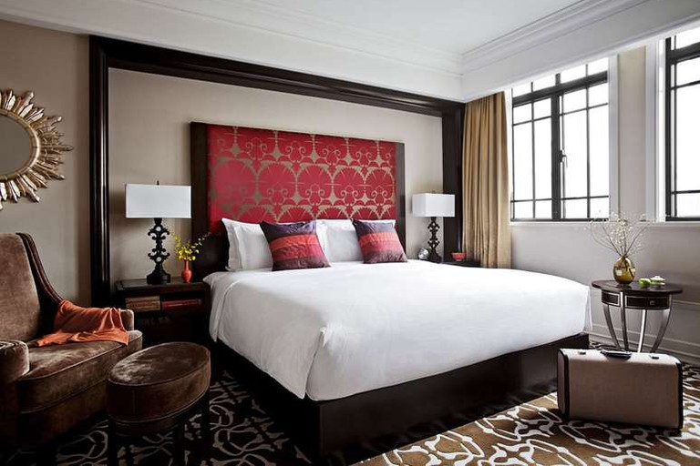 Each room at The Yangtze Boutique Shanghai features a balcony