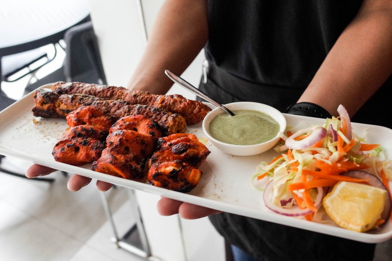 Choose from a mouthwatering selection of North Indian tandoori-centric dishes