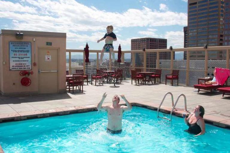 A Creative Commons Image: Warwick Hotel Pool