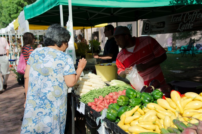 Charleston's Farmers Market, Charleston, South Carolina