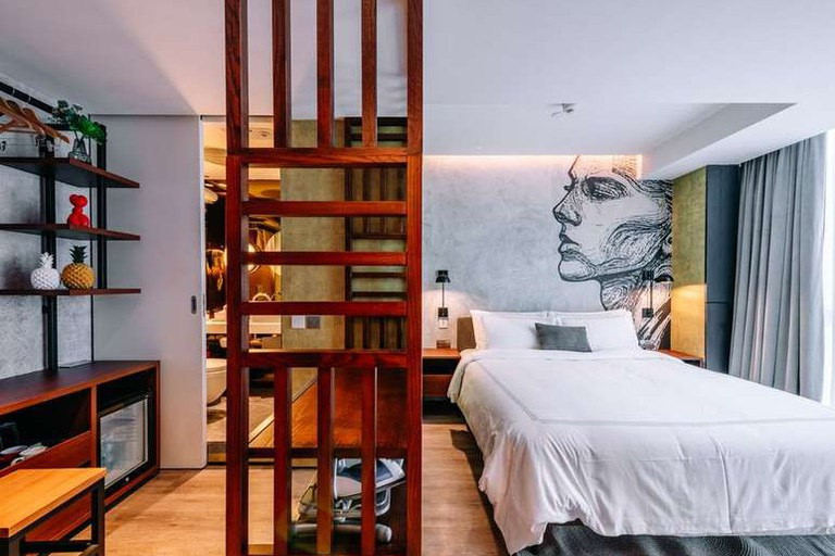 Mojo Nomad Central's rooms are luxurious yet affordable