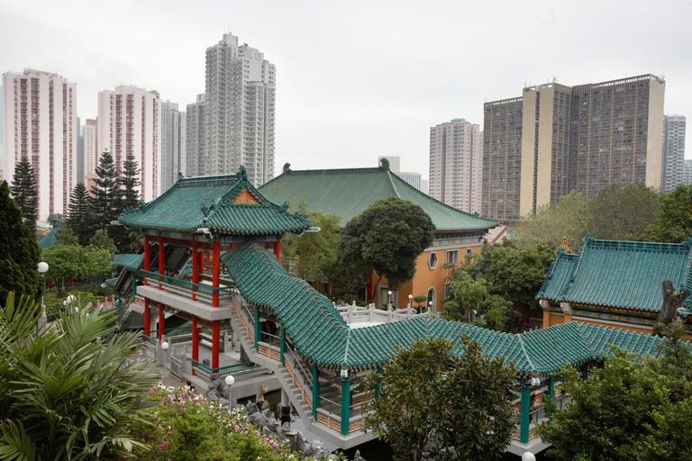 Wong Tai Sin buddhist temple