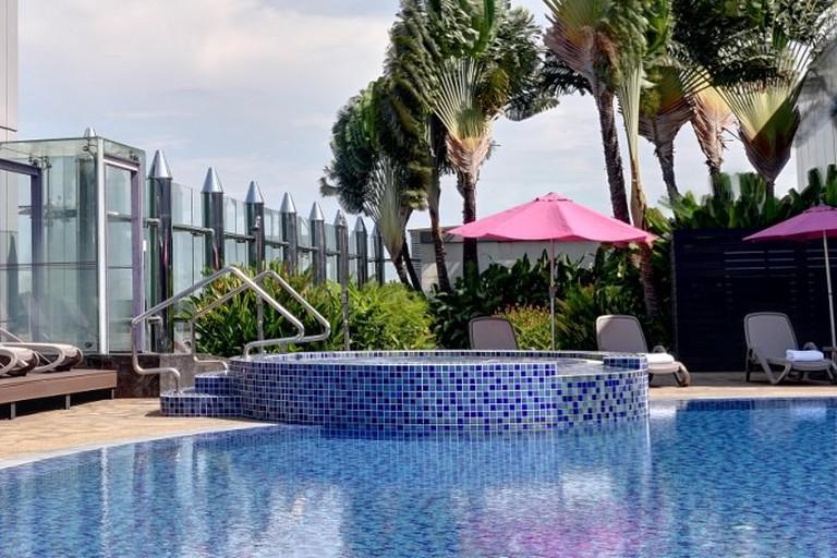 Aerotel Singapore Changi Airport Pool