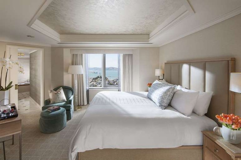 The Loews Regency San Francisco offers sweeping views of the city