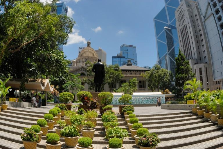 Statue Square, Hong Kong