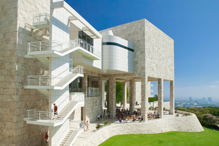 Getty Center in Los Angeles, California, USA