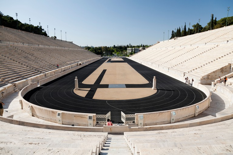 The Panathenaic stadium, Athens