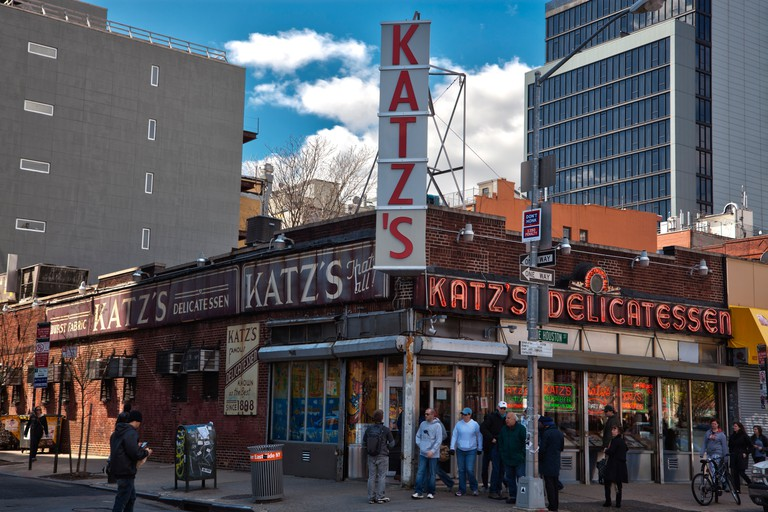 Katz's deli in New York City, made famous in the film When Harry Met Sally.