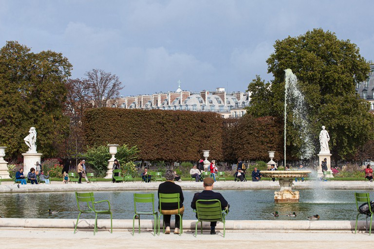 Kick back in the Jardin des Tuileries