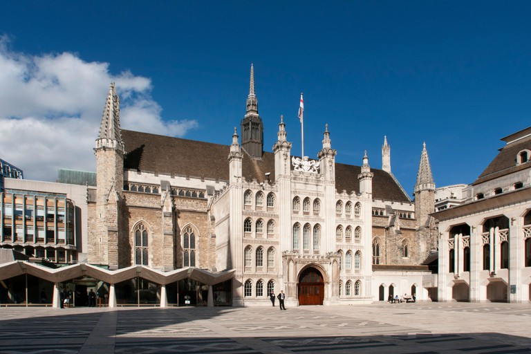 London's Guildhall was built in 1440