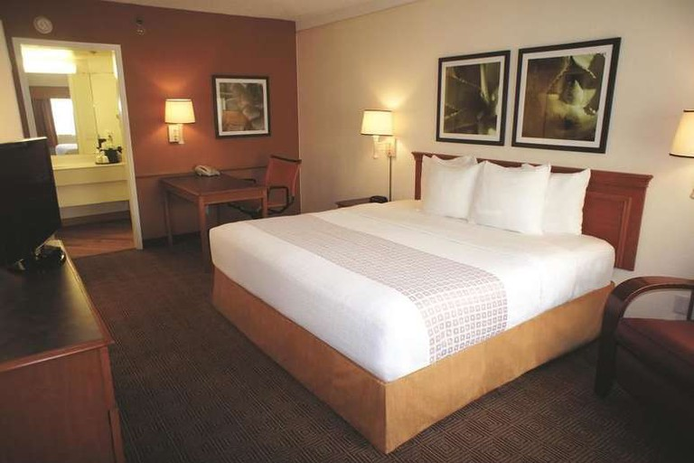 There are over 150 rooms at La Quinta Inn Austin Capitol